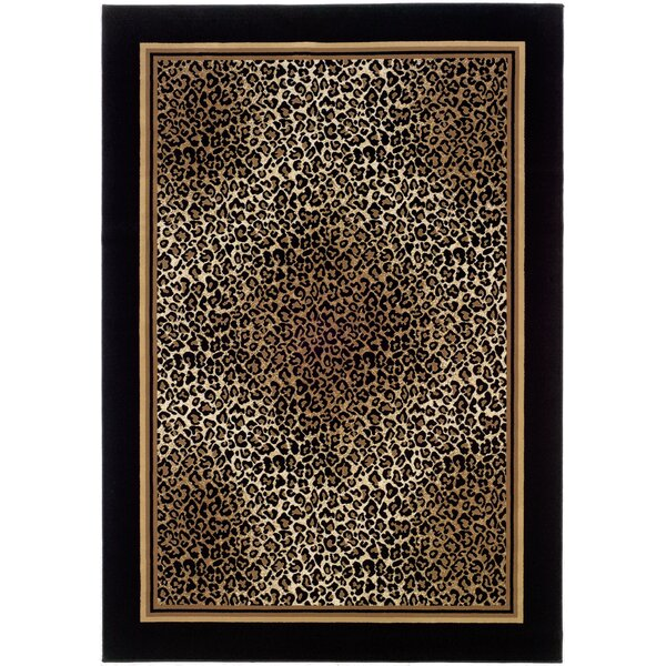 Amsbry Brown/Beige Area Rug by World Menagerie