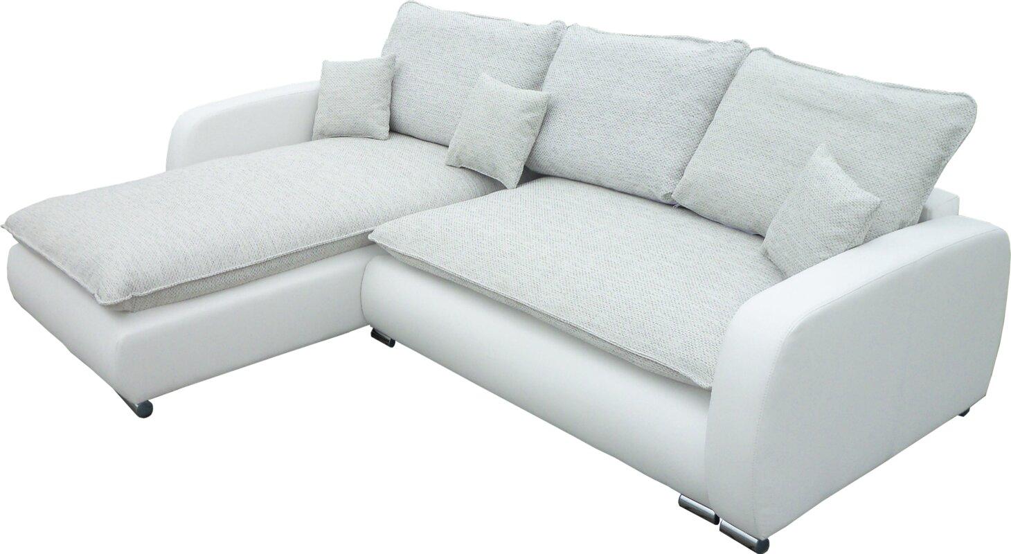 orren ellis ecksofa pierre mit bettfunktion bewertungen. Black Bedroom Furniture Sets. Home Design Ideas