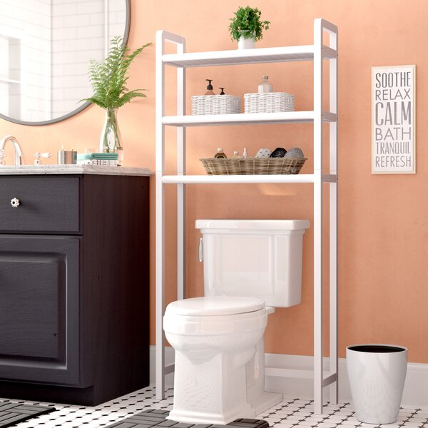 28 W x 60 H Over the Toilet Storage by Rebrilliant