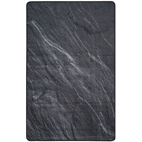 Kira Black Area Rug by Williston Forge