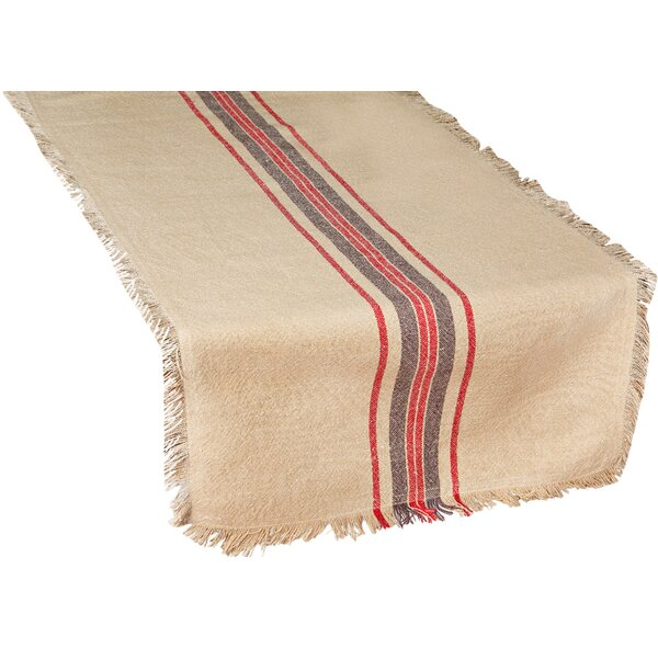 Stripe Linen Table Runner by Xia Home Fashions