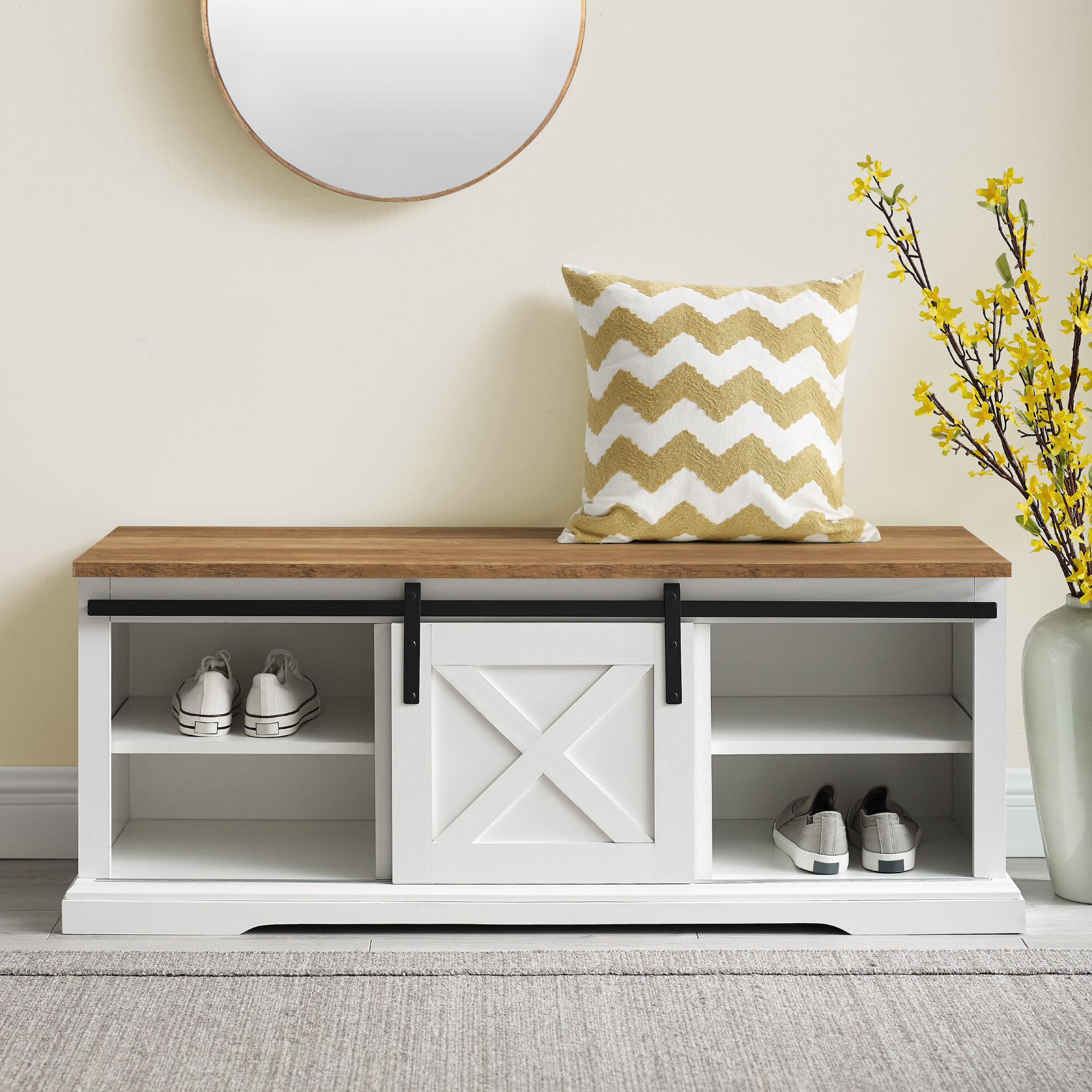 Picture of: Entryway Shoe Storage Equipped Benches You Ll Love In 2020 Wayfair