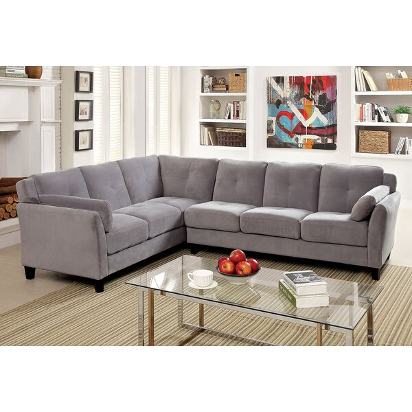 Karcher Sectional by Alcott Hill