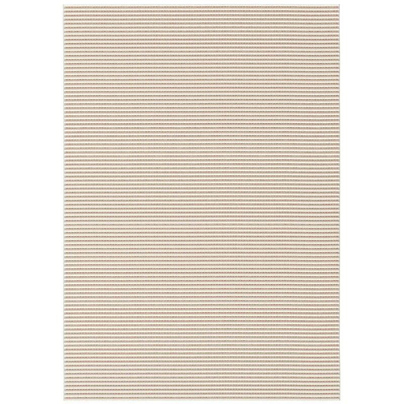 Longweave Waverley Cream Orange Striped