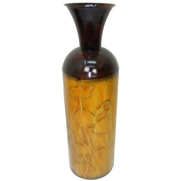 Metal Vase by Hazelwood Home