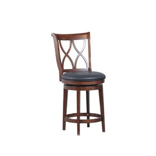 Reviews Whiting 24 Swivel Bar Stool by Bay Isle Home