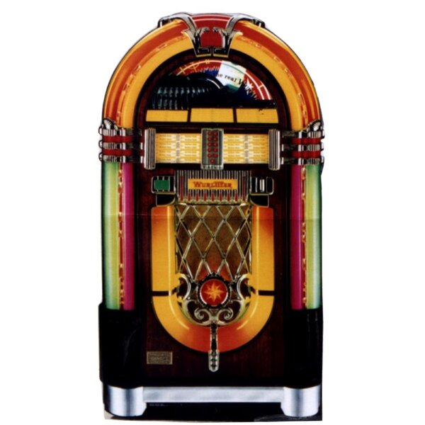 Cartoons Wurlitzer Jukebox Life-Size Cardboard Stand-Up by Advanced Graphics
