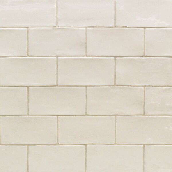 Catalina 3 x 6 Porcelain Subway Tile in Vanilla by Splashback Tile
