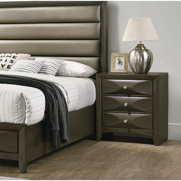 Middleton 3 Drawer Nightstand by Brayden Studio