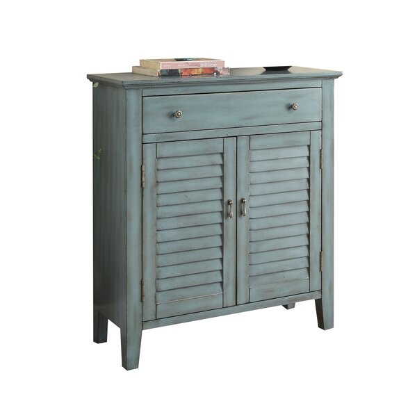 Pooler Antique 2 Door Accent Cabinet by Ophelia & Co.