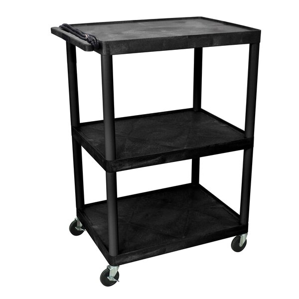 48 AV Cart with 3 Shelves by Offex