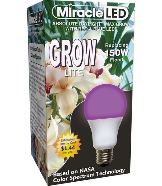 Grow Starter Spectrum Max Hydroponic Grow Light (Set of 2) by Miracle LED