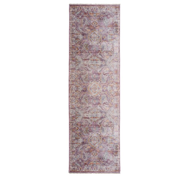 Artisan Rouge Pink/Ivory Area Rug by Nicole Miller