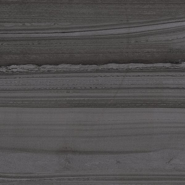 Lakestone 12 x 24 Porcelain Wood Look/Field Tile in Pewter by Madrid Ceramics