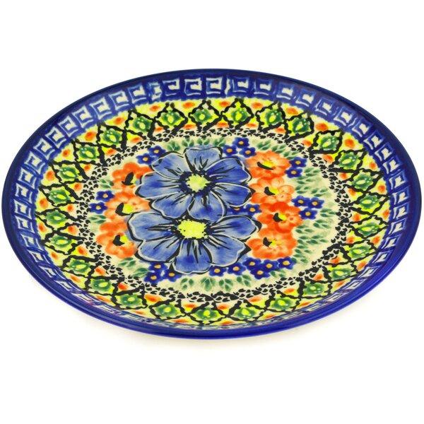 Polish Pottery 7.5 Dinner Plate by Polmedia