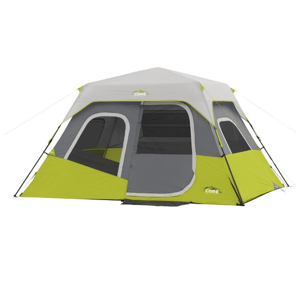 6 Person Instant Cabin Tent by Core Equipment