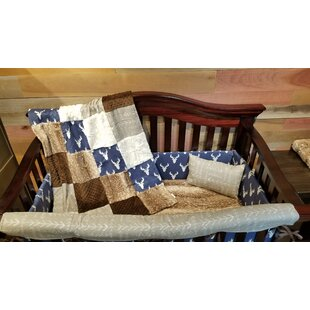 Affordable Price Straw Deer 3 Piece Crib Bedding Set ByHarriet Bee