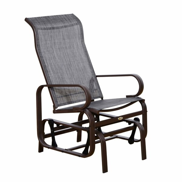Calvert Patio Glider Chair by Ebern Designs
