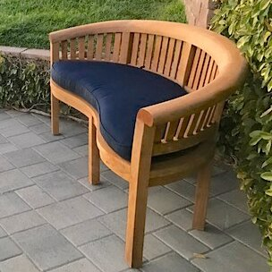 Banana Teak Garden Bench by Trijaya Living