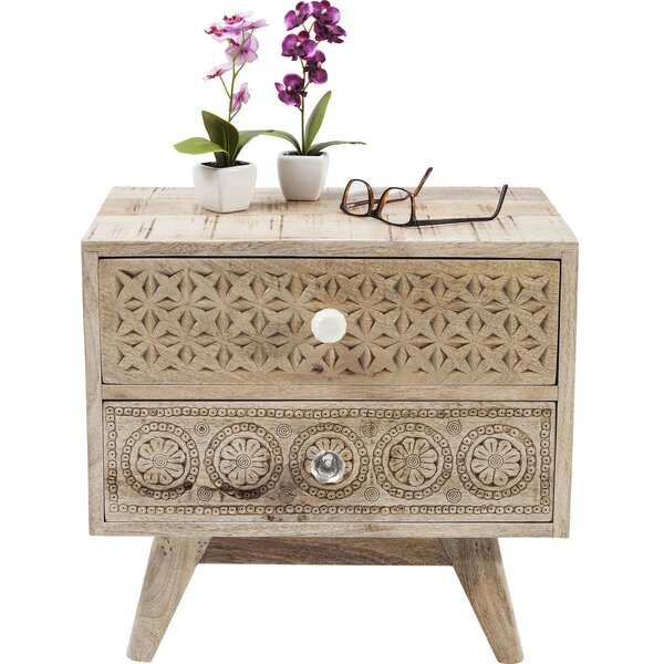 Abigail Bedside 2 Drawer Nightstand by Mistana