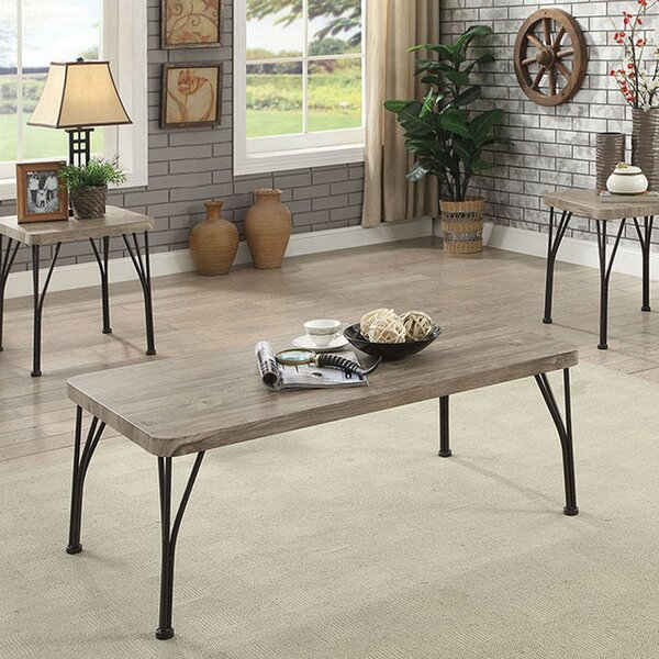Apodaca 3 Piece Coffee Table Set by Williston Forge