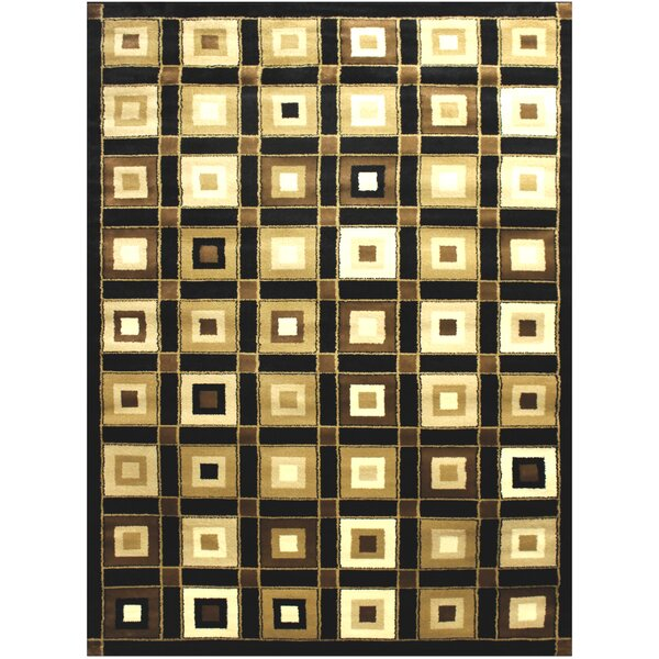 Brown/Beige Area Rug by Brady Home