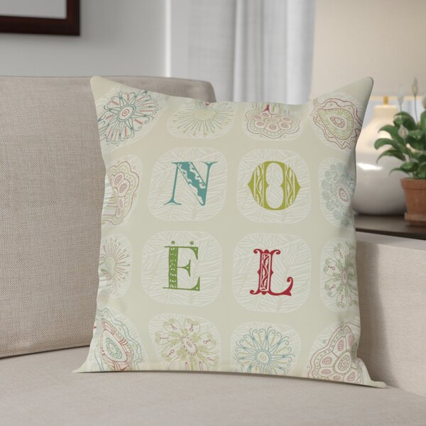 Gilland Boho Noel Throw Pillow by Andover Mills