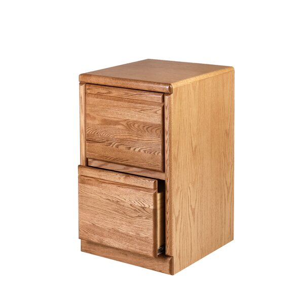 Braunstein 2-Drawer Vertical filing cabinet