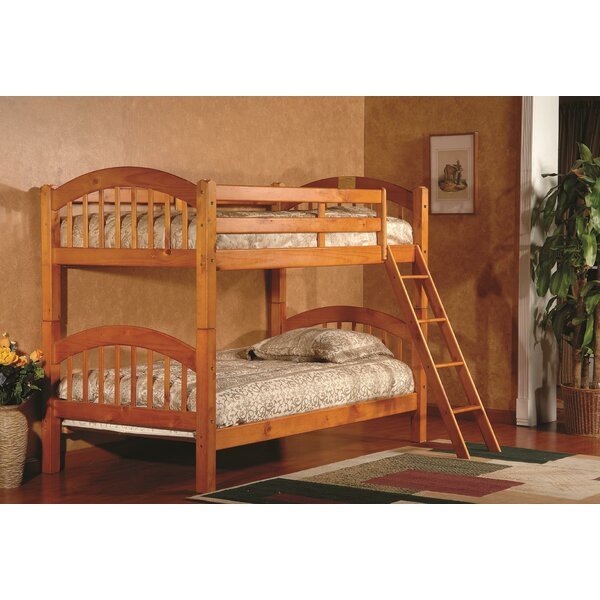 Jarrod Bunk Bed with Drawers by Harriet Bee