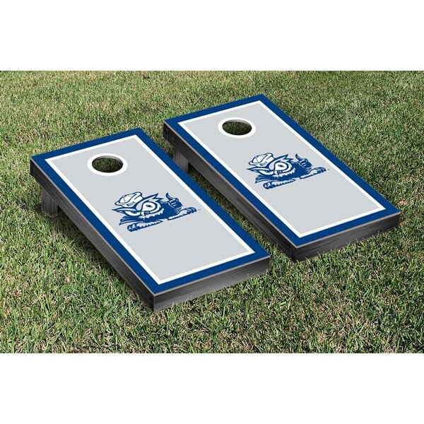 NCAA Border Wooden Cornhole Game Set by Victory Tailgate