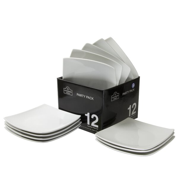 Party Packs 6 Bread and Butter Plate (Set of 12) by Ten Strawberry Street