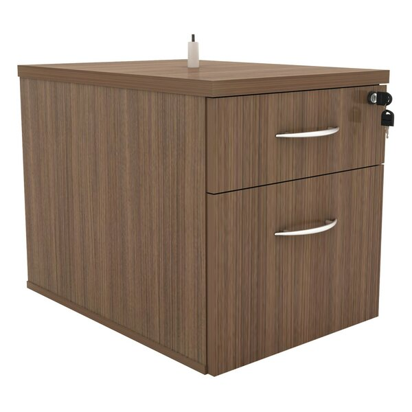 Kangas Hanging Box/File 2-Drawer Vertical Filing Cabinet by Symple Stuff