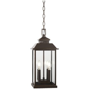 Order Helms 4-Light Outdoor Hanging Lantern By Alcott Hill