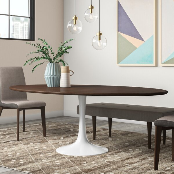 Julien Solid Wood Dining Table by Langley Street