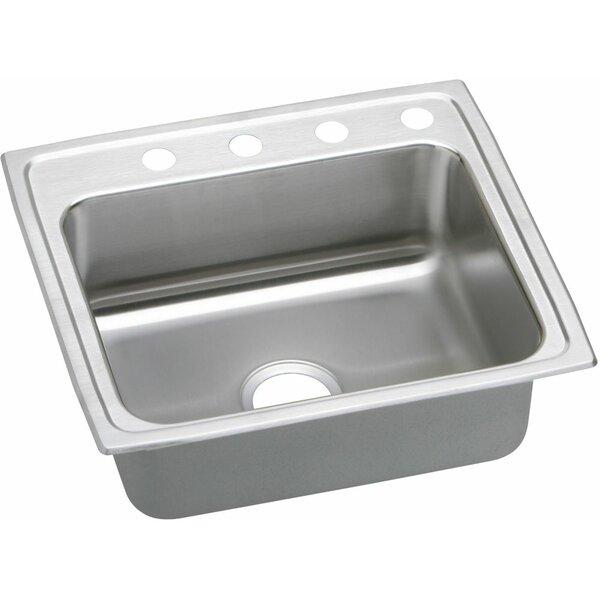 Lustertone 25 x 21 Drop-In Kitchen Sink by Elkay
