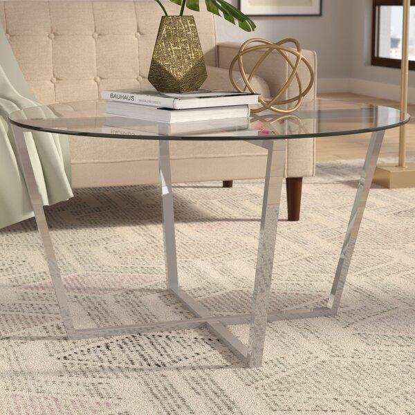 Rodas Coffee Table by Wrought Studio