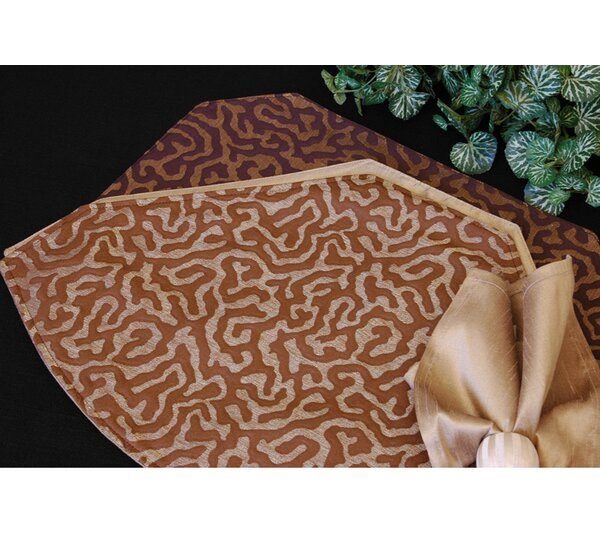 Illusions Table Linens Reversible Placemat (Set of 2) by Pacific Table Linens