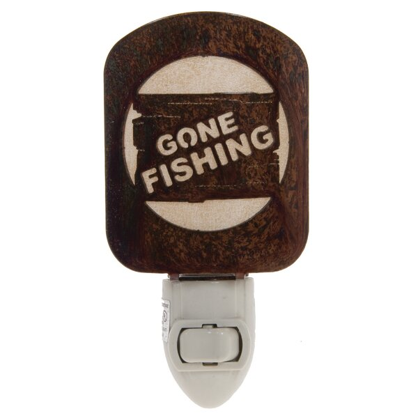 Gone Fishing Night Light by Lazart