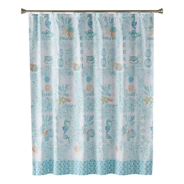 Vedette Shower Curtain by Highland Dunes