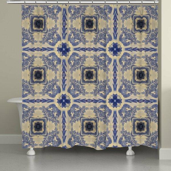 Eakes Shower Curtain by Bloomsbury Market
