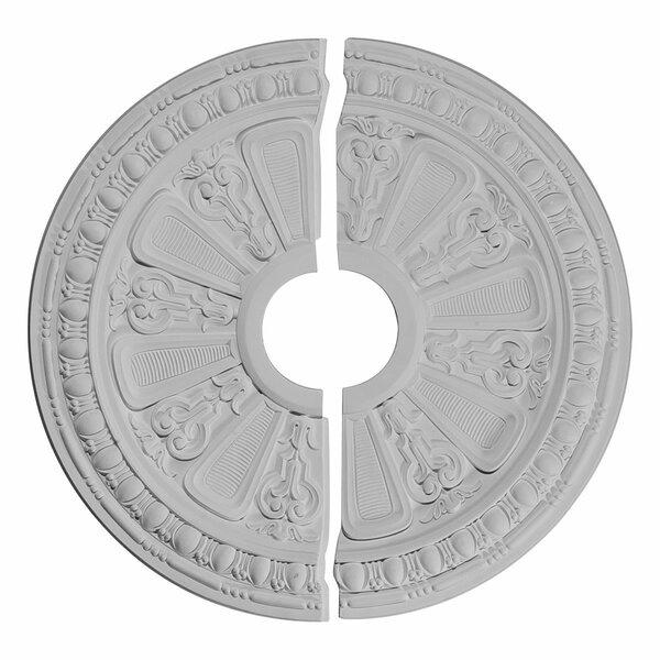 Raymond 17.63H x 17.63W x 0.88D Ceiling Medallion by Ekena Millwork
