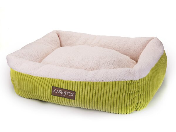 Pet Bed Bolster with Polyester Fill by Kasentex
