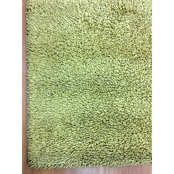 Shag Eyeball Woolen Hand Knotted Deco Gold Area Rug by Eastern Weavers