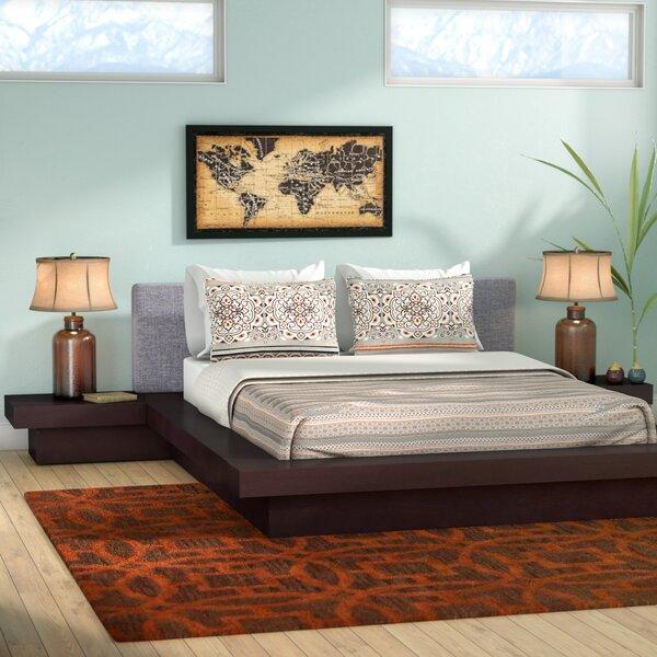 Rennan Queen Platform 3 Piece Bedroom Set by World Menagerie