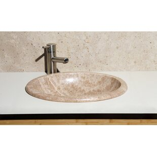 Best Price Stone Oval Drop-In Bathroom Sink By Allstone Group