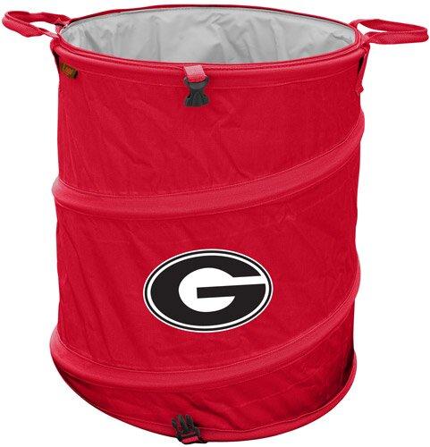Collegiate Trash Can - Georgia by Logo Brands