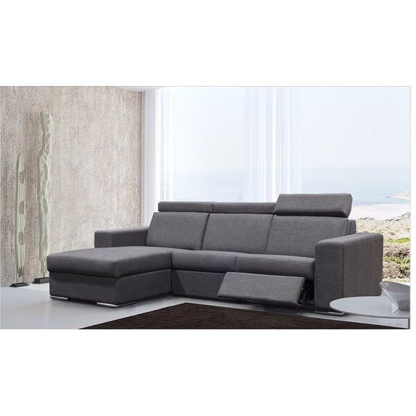 Perfect Shop Cannava Reclining Sectional by Orren Ellis by Orren Ellis