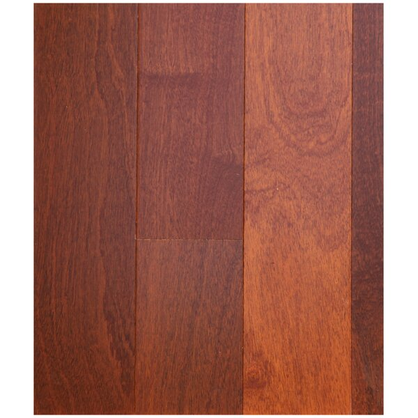 3-1/2 Engineered African Mahogany Hardwood Flooring in Natural by Easoon USA