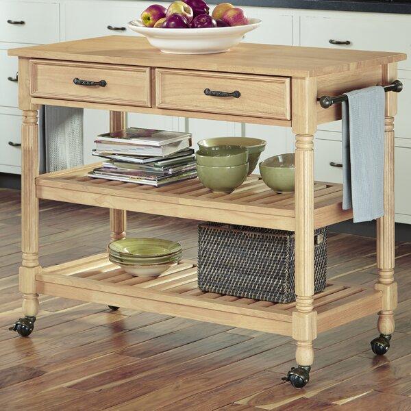 Fitzhugh Kitchen Cart by Three Posts