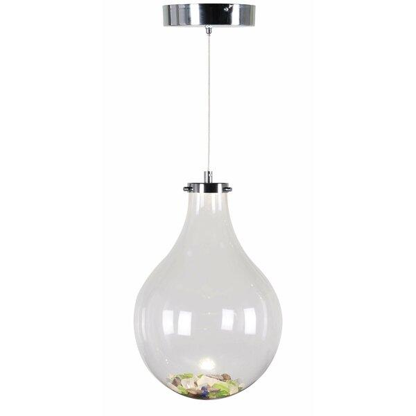 Vessel 1-Light Teardrop Pendant by Wildon Home ®
